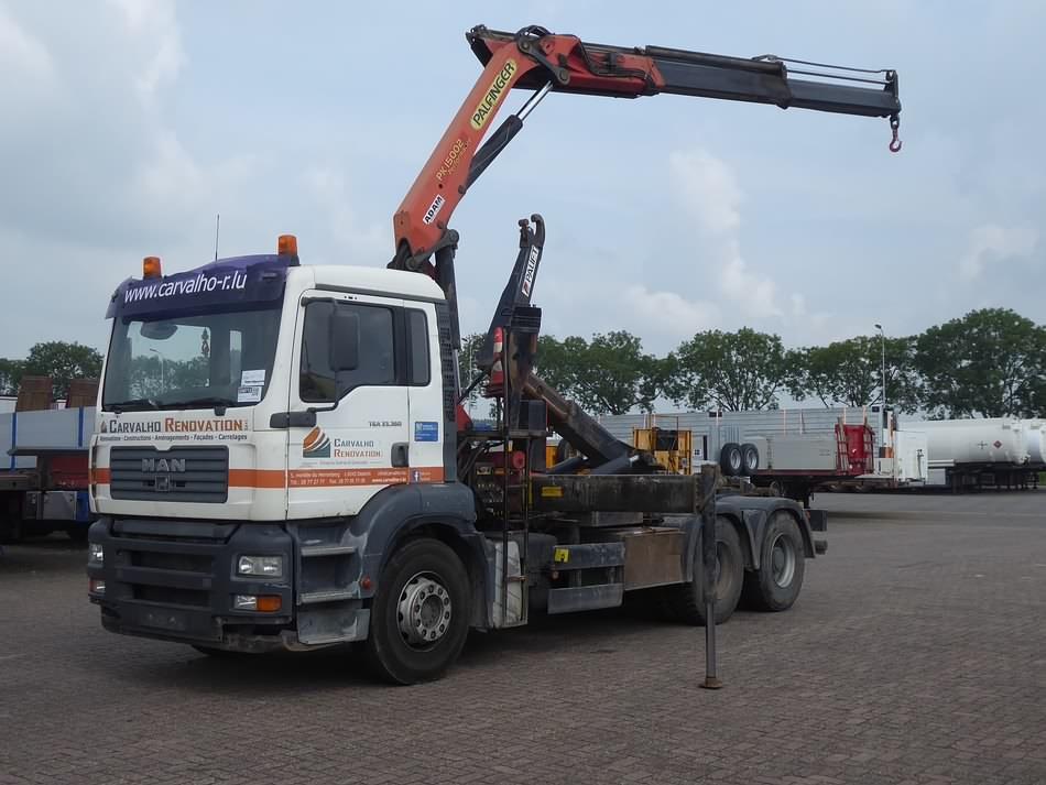 M A N  33 360 - Kleyn Trucks