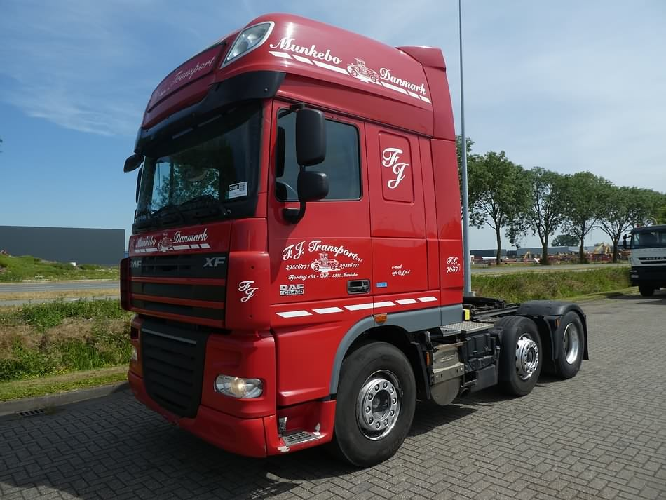 DAF XF 105 460 SSC 6X2 FTG ATE