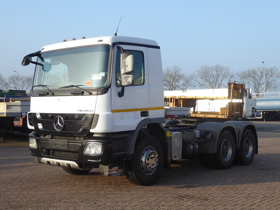 MERCEDES-BENZ ACTROS 3341 - Kleyn Trucks