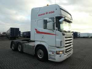 Wonderbaar De Scania R500, een vriend voor iedere ondernemer en chauffeur HF-05