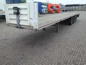 FRUEHAUF - 3 AXLES OMEGA FLOOR