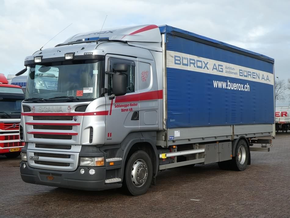 SCANIA R380 - Kleyn Trucks