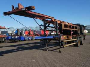 TRAILOR - 40 FT 2 AXLES BPW