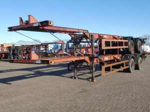 FRUEHAUF - 40 FT 2 AXLES BPW
