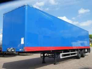 CHEREAU - 2 AXLES CLOSED BOX